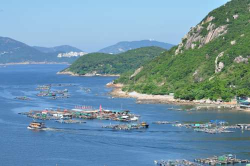 View of the bay at Sok Kwu Wan