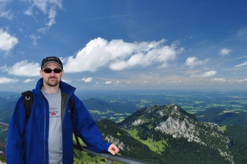 View from the top of Wendelstein