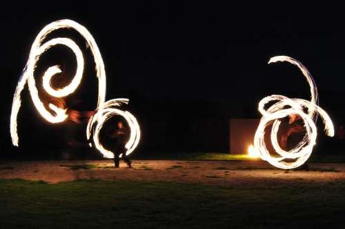 Falkenhof Spektaculum Fire Show