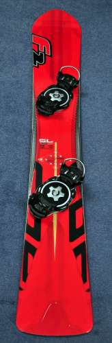 F2 Speedster SL 158 with Intec Titanium bindings - what a pretty board!