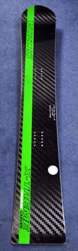 Virus X-Treme Carver Premium 162 - beautiful carbon fiber top for extra torsional stiffness, and super-sexiness!