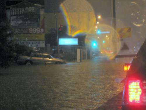 Typical Malaysian rainstorm