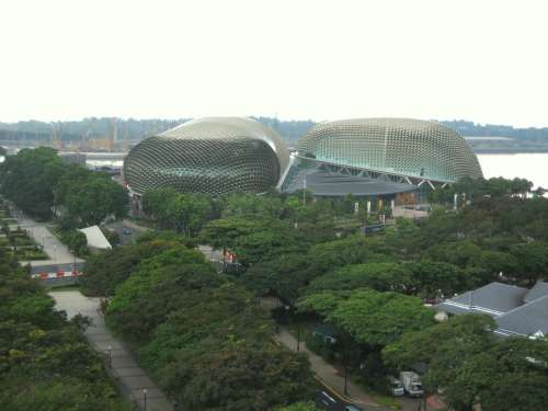 """The Durian"" concert hall"