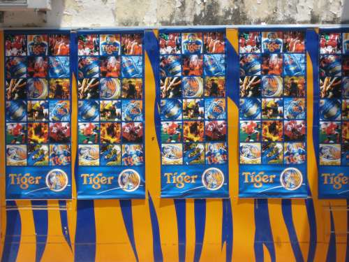 Tiger - the Beer of Malaysia!