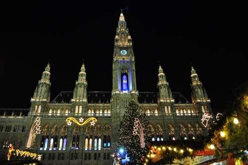 Vienna Rathaus - Christmas Time