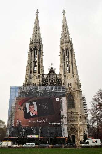 """The """"Nespresso"""" Votivkirche?"""