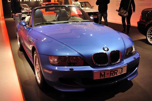 1997 BMW M Roadster in Estoril Blue