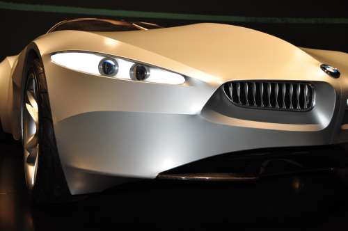 BMW GINA concept car - headlights