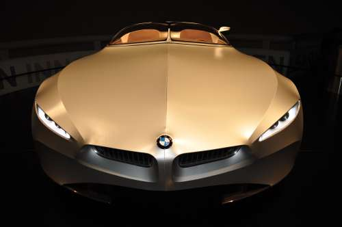 BMW GINA concept car - front view