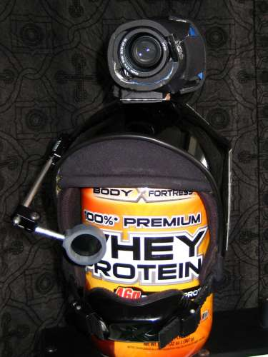 Top-mounted Helmet Cam