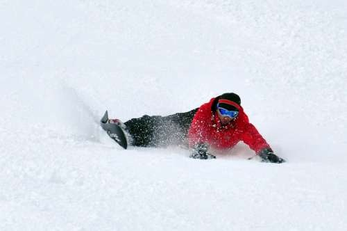 Peter Snowboard Backside Carve Oxess