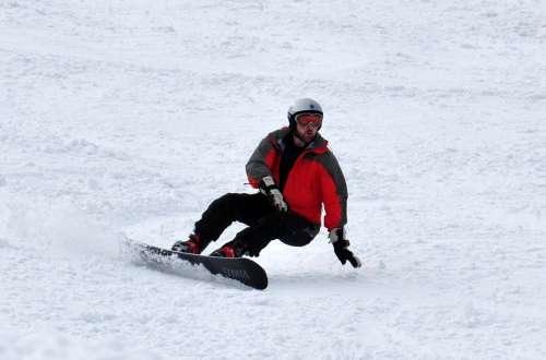 Dave Snowboard Backside Carve Virus