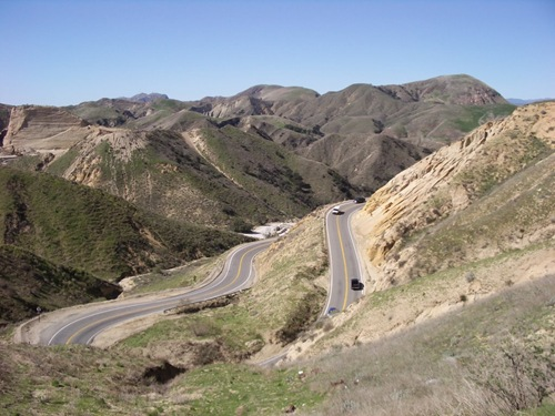 LA Hills &amp; Winding Roads
