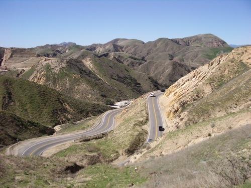 LA Hills & Winding Roads