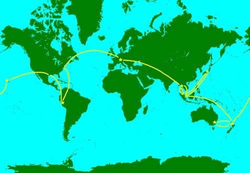 World_Map_DavesTrip