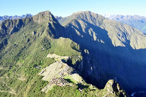 Machu Picchu, taken from Wayna Picchu