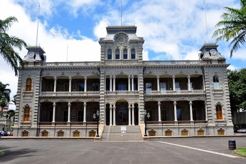 Palace in Honolulu