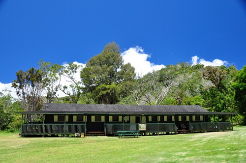 Bunkhouse at Camp Sloggett in the Waimea Canyon