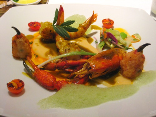 Mixed shellfish at Astrid y Gaston