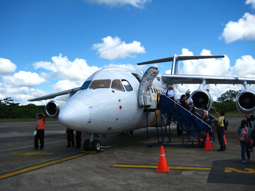 Leaving Puerto Maldonado