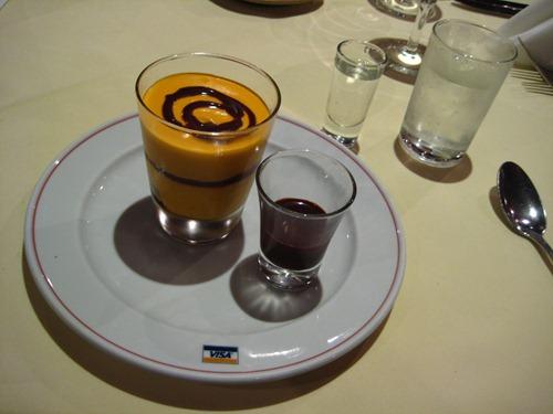 Suave Crema de Lucuma dessert at Las Brujas de Cachiche