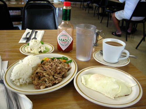 Kalua Pig at Dani's in Lihue