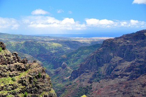 View of Waimea Canyon from the Canyon Trail