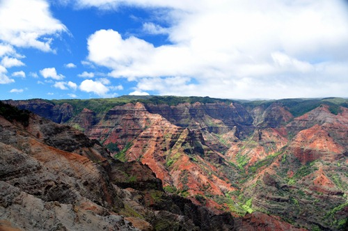 Waimea Canyon from a viewpoint