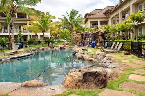 Pool at The Villas at Poipu Kai