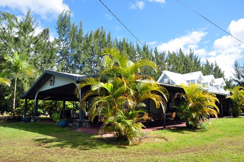 Pineapple Park Volcano hostel on Big Island