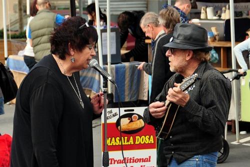 Street Musicians at Britomart farmers' market