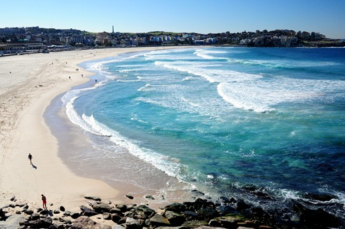 Bondi Beach in Sydney, Australia