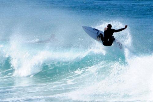 Surfer at Bondi Beach