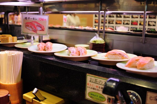 Eat All the Fish! at Kaiten Sushi - Running Sushi