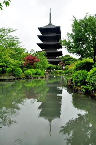 Five-Storied Pagoda at Toji