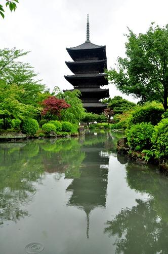 Five-Storied Pagoda at Toji