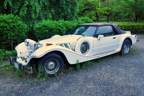 Old car in Japan