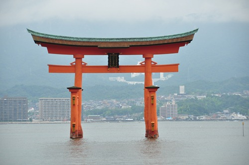 The Torii at Miyajima