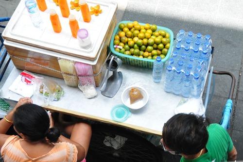 Fresh juice in Bangkok