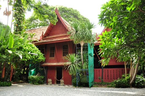 Main entrance to Jim Thompson's House