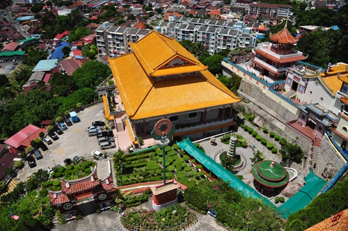 View from the Ten Thousand Buddhas Tower