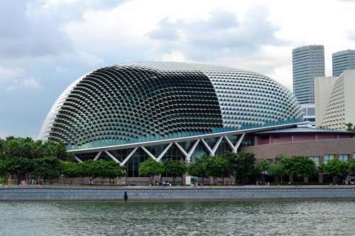 """The Durian"" - Concert Hall in Singapore"