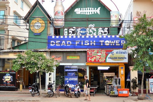 Siem Reap's &quot;Dead Fish Tower&quot;