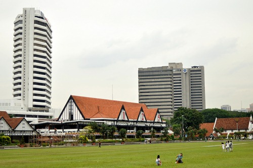 The private Selangor Club where the Hash House Harriers started
