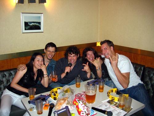 Rock on Karaoke singers!