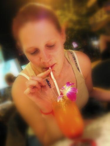 Mmm... Tequila Sunrise!