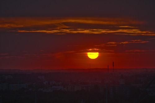 Olympiastadion HDR Sunset