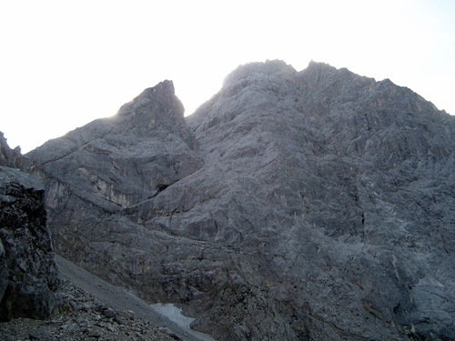 Zugspitze hiking path