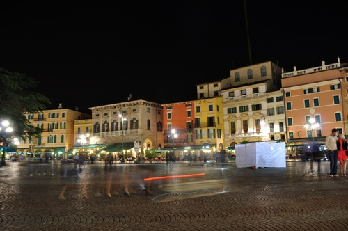 Verona's Piazza Bra