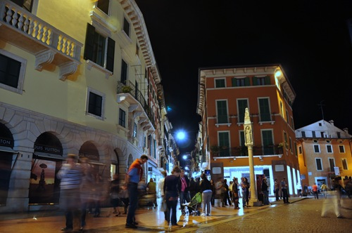 Street scene in Verona